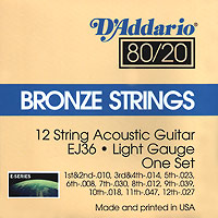 Struny D'Addario J36 