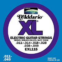 Struny D'Addario EXL 115  